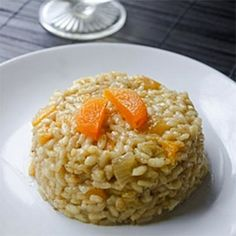 Apricot Risotto - for GP version, minis apricot and use sub to your liking to make it GP friendly