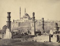 Cairo. Citadel and Mosque of Mohammed Ali - A. D. White Architectural Photographs, Cornell University Library