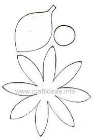 Resultado De Imagem Para Molde De Flor Margarida Para Imprimir