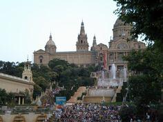 Barcelona, Spain  Loved Montjuic (majic) fountain!
