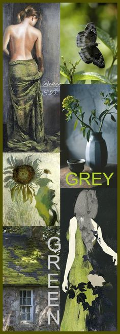 '' Grey & Green'' by Reyhan S.D.