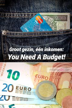 Groot gezin, één inkomen: You Need A Budget! #budget #ynab https://mamaabc.be/ynab/