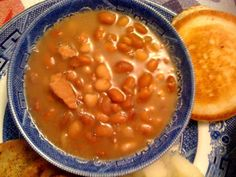 Sweet Tea and Cornbread: Southern Ham and Beans! Used in #4 Death in Perspective.