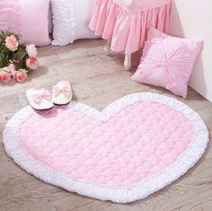 Pastel pink room cute home decor room bedroom home heart pink sweet girly rose roses rug . Girls Bedroom, Bedroom Decor, Decor Room, Bedrooms, Tout Rose, Kawaii Bedroom, Cute Home Decor, Pink Room, Everything Pink