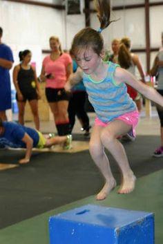 CrossFit Kids action