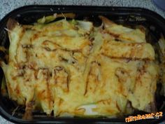 CUKETA PO ŘECKU Raw Vegan, Vegan Vegetarian, Paleo, Cauliflower Vegetable, Good Food, Yummy Food, Russian Recipes, Greek Recipes, Main Meals