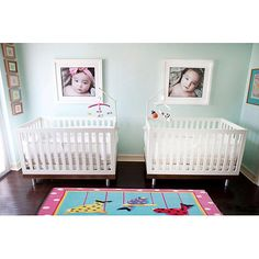 If ever I had twins. belle maison: Reader Room Design: A Chic Nursery for Twins Boy Girl Twins, Twin Boys, Twin Babies, 1 Girl, Nursery Twins, Chic Nursery, Nursery Room, Twin Nursery Gender Neutral, Aqua Nursery