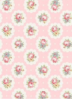 C.Kidston, just so cute, Cath Kidston, Floral print, flower, want as my bedroom wall paper, on my main wall......please