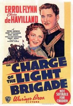 Our newest post:  The Charge of the Light Brigade (1936) with Errol Flynn - http://www.classicfilmfreak.com/2014/01/25/charge-light-brigade-1936-errol-flynn/