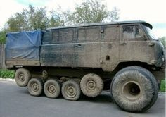 Must be military, but looks almost like a vw bus on steroids. 4x4 Trucks, Lifted Trucks, Diesel Trucks, Ford Trucks, Offroad, Funny Accidents, 4x4 Van, Bug Out Vehicle, Old Tractors