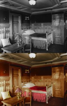 titanic in color accommodations