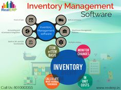 #InventoryManagementSoftware helps to improve your business efficiency. It will manage the major task of the business such as sales, manage order, track order, accounting and CRM integration  See more @ http://bit.ly/2o7K9ke #RealERP #InventoryManagement