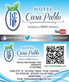 Hotel Casa Pablo siempre a tu servicio...