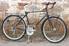 Littleford Expedition Touring Bike with our Cazadero knobby tires. | Adventure Cycling Association