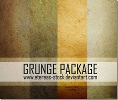 Grunge Package Textures #photoshop #textures