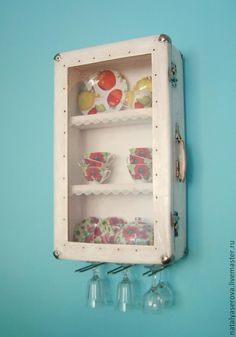 Display cases of old suitcases - Fair Masters - handmade, handmade