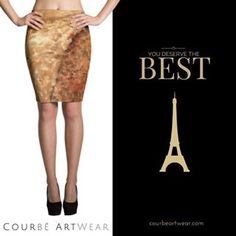 💫You deserve the best - with The Bridge Pencil Kirt by Courbé Artwear.  http://crwd.fr/2vz6AEK  #igfashions #fashiongrams  #fashionstyle  #parisinspired #fashionskirts #pencilskirts  #fashiondaily #highwaistedskirts #casualwear #goldskirts
