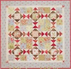 Winter White Quilt Pattern, Schnibbles by Miss Rosie's Quilt Co. by…