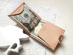 Personalized Money Clip Wallet / harlex
