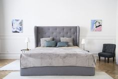 A Cannes bed from Momax in the master bedroom