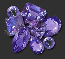 My favorite gemstone!  Tanzanite!