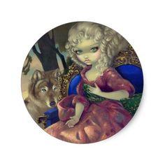 """Loup-Garou:  L'Aube"" Sticker https://www.zazzle.com/z/3shye"