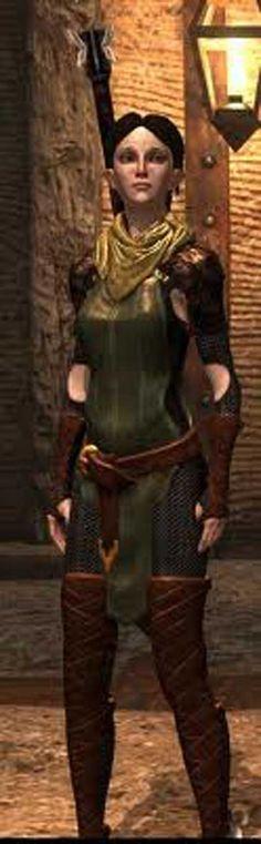 Dragon Age 2 -- Merril Cosplay Costume Version 01