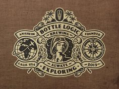 Bottle Logic 2018 Week of Logic Logo by Emrich Office