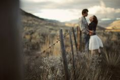 Amber and Bryan's western ranch engagement session from Ashcroft, Canada. http://nordicaphotography.com/document-you-amber-bryan/