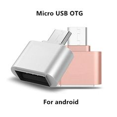 Mini Micro USB OTG adapter Camera USB Flash android phone OTG cable Connector for oppo Samsung Galaxy xiaomi Lenovo Sony LG