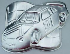Wilton Race Car Cake Pan Mold Baking Decorating Instructions | eBay