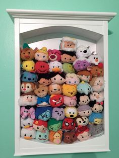 Tsum Tsums Display Case by Timberwolfwoodworks on Etsy