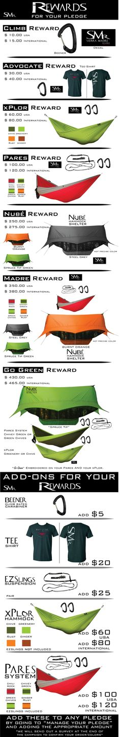 Nubé the Perfected Hammock Shelter by Sierra Madre Research by Richard G. Rhett Jr. — Kickstarter