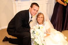 Josh (born March 3, 1988) and Anna on their wedding day, September 26, 2008.