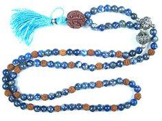 Hindu Prayer Mala- Rudraksha Beads Sodalite Healing Japa Mala for Meditation and Peace Mogul Interior http://www.amazon.com/dp/B012I5DUW4/ref=cm_sw_r_pi_dp_o2GUvb0VRMCC2