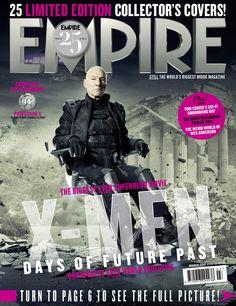 X-Men Days of Future Past Empire Cover Professor X