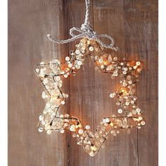 One of the best ways to create holiday ambiance is with strings of warm yellow or blue-white Christmas lights, indoors and out. Diy Christmas Lights, Noel Christmas, All Things Christmas, Winter Christmas, Christmas Wreaths, Christmas Decorations, Xmas, Christmas Ornaments, Hanukkah Lights