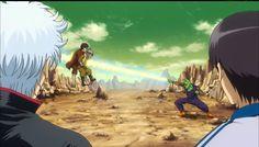 Cena clássica de Dragon Boll - Gintama