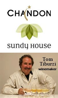 Wednesday, March 21, 2012  6:30 PM  Domaine Chandon Wine Dinner at Sundy House with winemaker Tom Tiburzi  Where: Sundy House, 106 S. Swinton Avenue, Delray Beach, FL 33444  https://www.facebook.com/events/116147771842562/