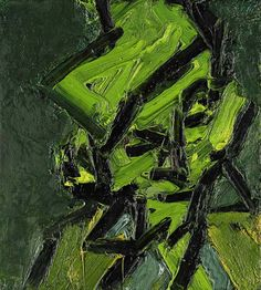 Frank Auerbach. Head of Gerda Boehm, 1970.