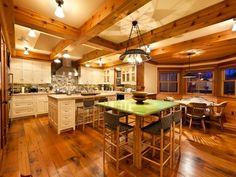 Jerry Seinfeld Telluride Colorado Kitchen 2011