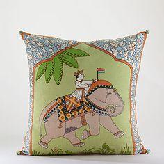 Elephant Toss Pillow at Cost Plus World Market