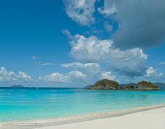 Jewel of the Virgin Islands National Park, Trunk Bay Beach, Saint John.