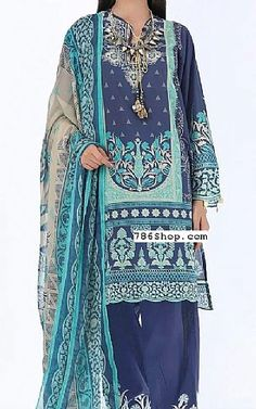 Pakistani Lawn Suits, Pakistani Dresses, Famous Clothing Brands, Fashion Pants, Fashion Dresses, Add Sleeves, Lawn Fabric, Shalwar Kameez, Print Chiffon