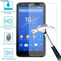 9H 2.5D Tempered Glass For Sony Xperia E4G E2033 E2003 E2053 E2006 Screen Protector Front Cover Guard Film With Cleaning Tool //Price: $1.83//     #electonics