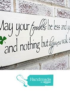 Name Signs In Wood Irish Baby Nursery Décor Customized