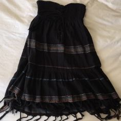 Billabong Fringe Dress Bought from another posher and never wore it. Too small for me but very cute!! Billabong Dresses Mini