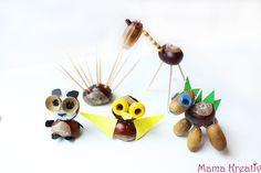 Kastanientiere sind langweilig? Hier findet ihr die schönsten einfachen Ideen zum Basteln, Malen und Spielen mit Kastanien für Kinder!!! Preschool Arts And Crafts, Arts And Crafts Projects, Diy Projects, Diy Crafts, Incense, Kids, Crafting, Blog, Inspiration