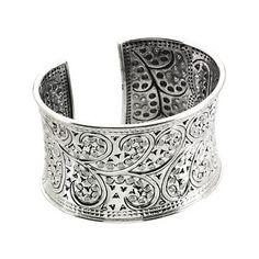 Sterling Silver Fashion Cuff