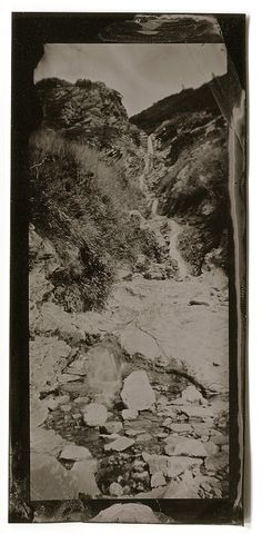 Waterfall wet plate vintage photography tintype 566 by Alumitypes Vintage Photography, Waterfall, Plates, Painting, Etsy, Art, Licence Plates, Art Background, Dishes
